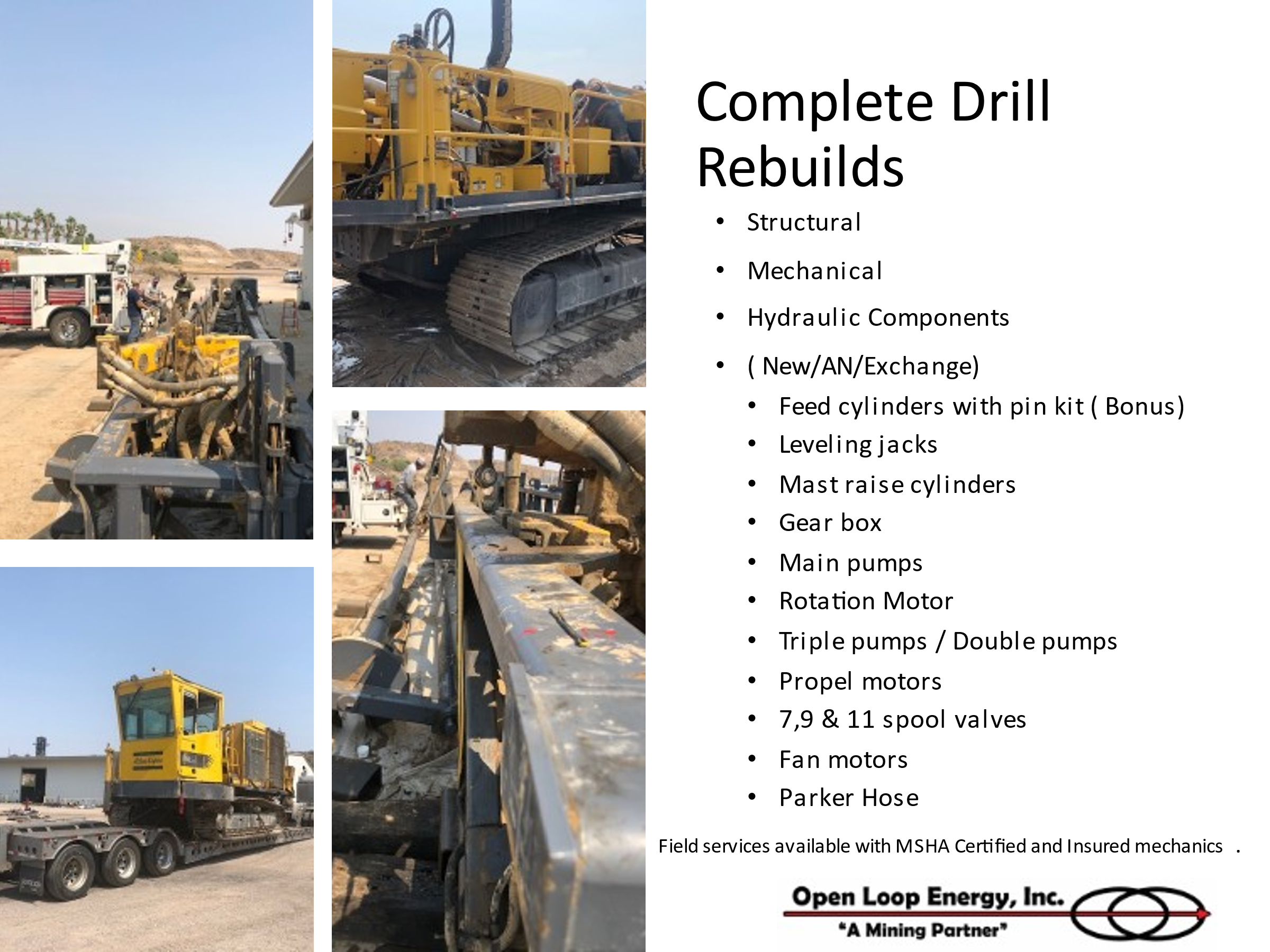drill rebuilds