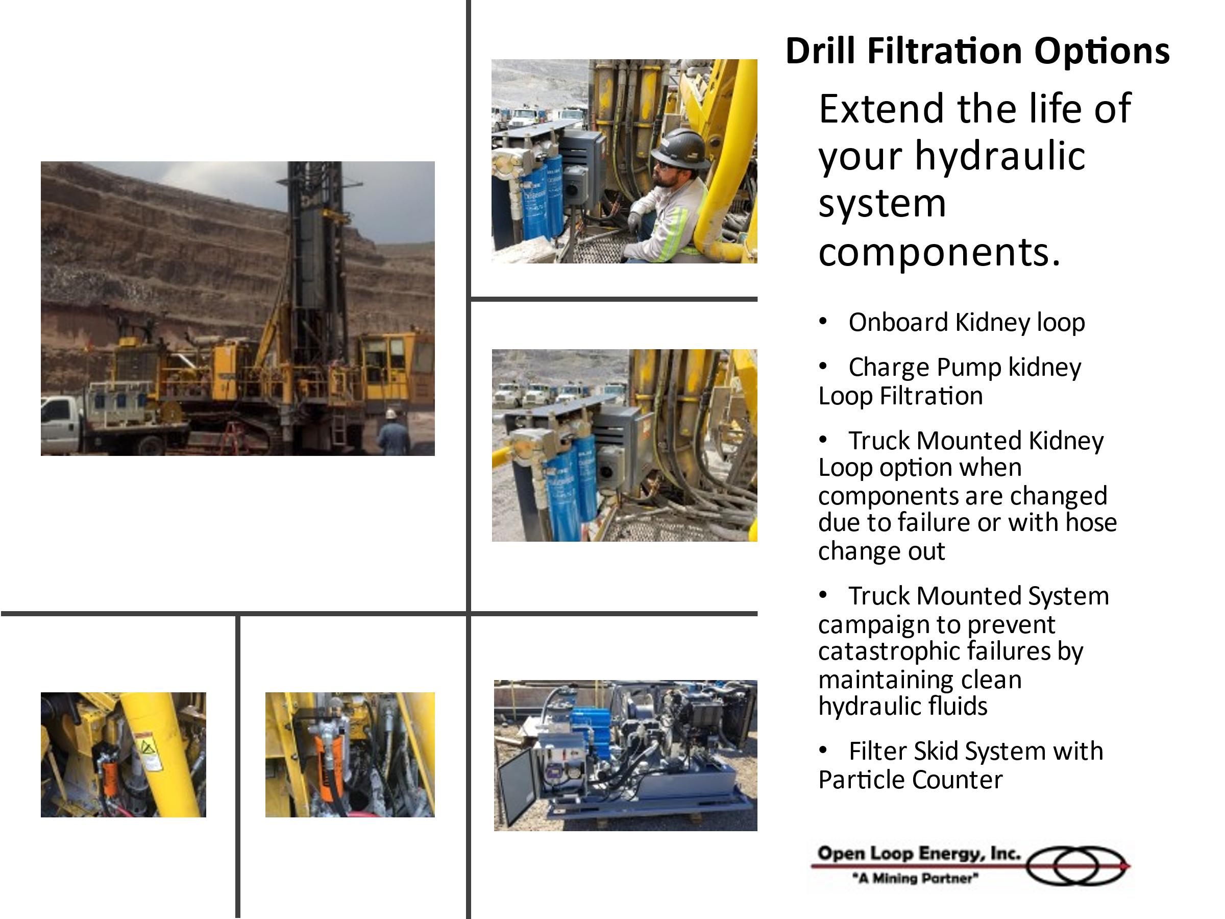 drill filtration
